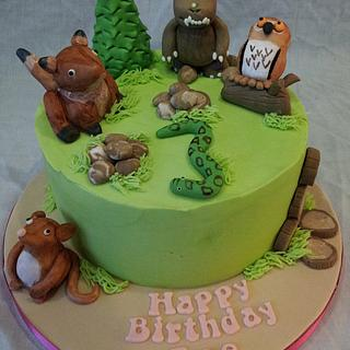 Watch out, here comes a Gruffalo