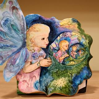 """Colaboración """"Primavera con Arte""""  Burbujas  ( Josephine Wall)"""