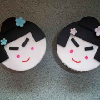 Anime Inspired Cupcakes