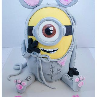 Minion in a mouse onesie