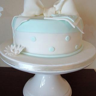 "Baby shower ""it's a boy"" cake"