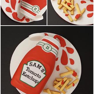 Ketchup Cake!
