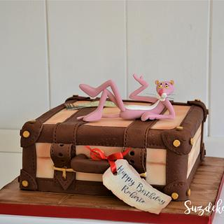 Vintage Suitcase - Cake by Susanne Zöchling
