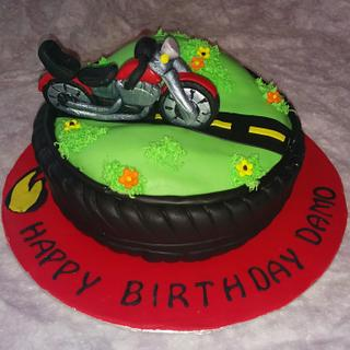 motorcycle cake - Cake by The Little Cake Company