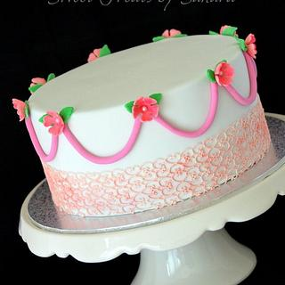 Lace Cake - Cake by Sandra