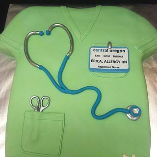 Scrubs for a new RN