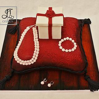 Birthday and Proposal cake