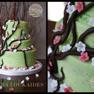 The Secret Garden (Cake Central Magazine) - Cake by Laura Loukaides