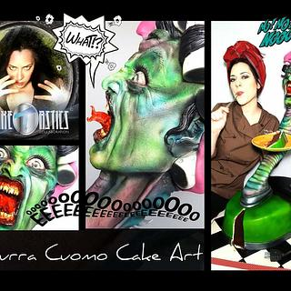 The Caketastics  collaboration: Eve-The Vacuum Cleaner❤