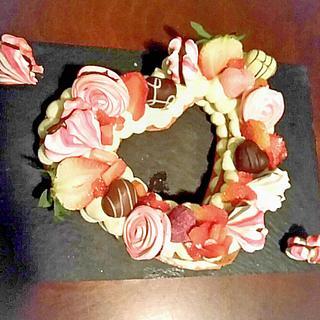Valentine Fruit Tart! CPC Valentines Day Collaboration..