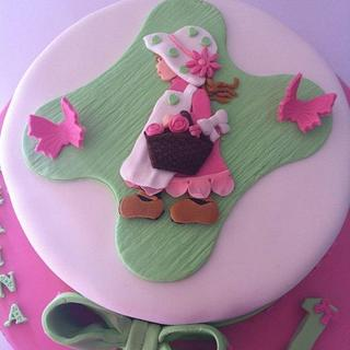 A little lady's cake!
