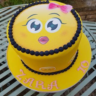 Emoji cake - Cake by Dawn Wells