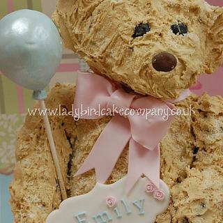 A teddy bear cake