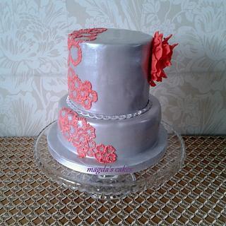 My elegant birthday cake :)