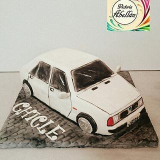 Tarta Lancia Delta - Cake by Victoria Abellán