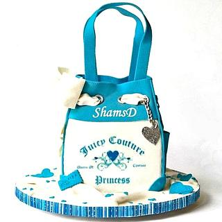 Handbag Cake - Cake by Shamima Desai