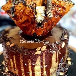 Man's cake