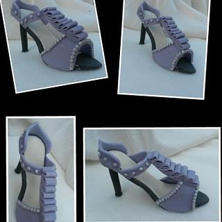 High heel cake topper! - Cake by Jenny Edman