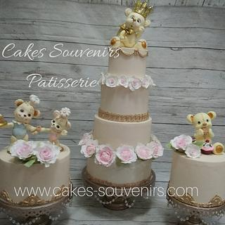 Baby Shower cakes - Cake by Claudia Smichowski