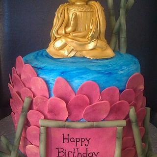 Buddha Birthday Cake