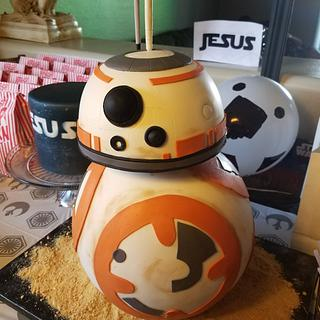 BB-8 - Cake by Sonia