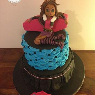 Monster High - Cake by L'Abeille En Sucre