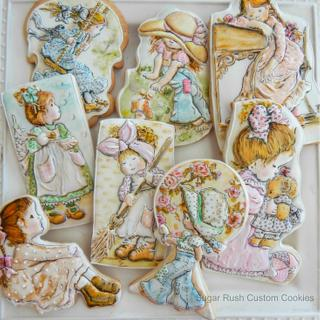 Cookies based on the illustrations by Sarah Kay