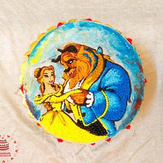 Beauty and the beast - Cake by Sara Hossam
