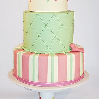 Quirky Bunting cake - Cake by Edible Art Cakes
