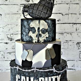 Call Of Duty - Cake by Cakes by Design