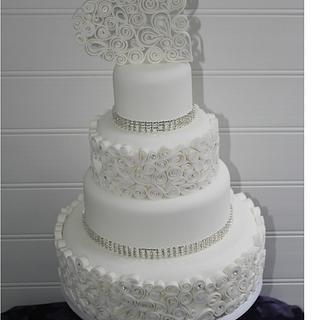 Quilled Wedding