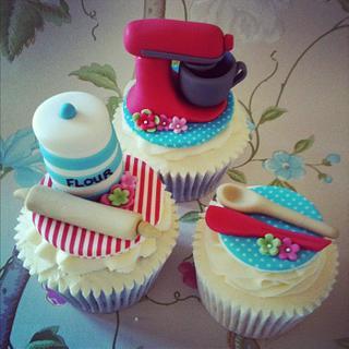 KitchenAid Baking Theme Cupcakes