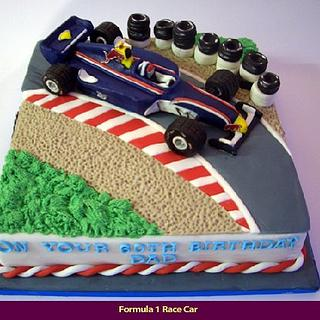 RACING DREAM - Cake by LAURA MANSFIELD