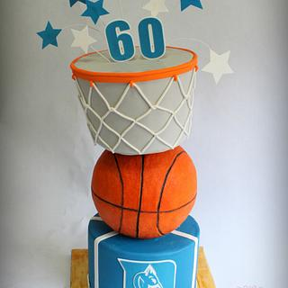 Duke Surprise Birthday Cake