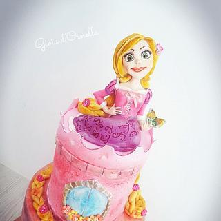 Raiponce cake 🌸