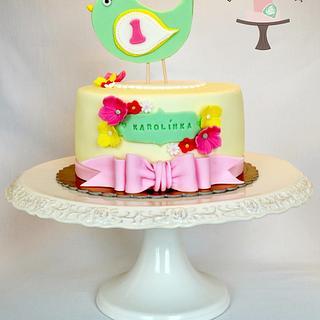 Spring Cake - Cake by Martina