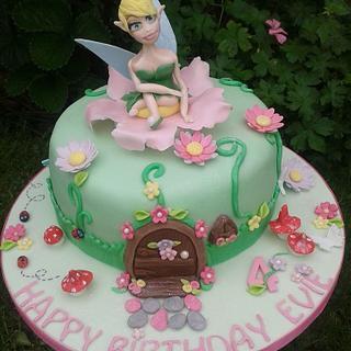 Sweet fairy cake - Cake by SweetCakeaholic1