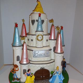 Princess Castle cake - Cake by Nanna Lyn Cakes
