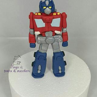 Transformers fondant - Cake by Mariana Frascella