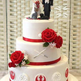 Wedding cake (Star Wars)