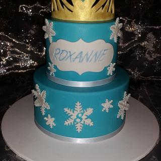 Crown of Elsa  - Cake by FNQ Cake Share