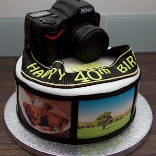 Nikon Camera Cake - Cake by Su