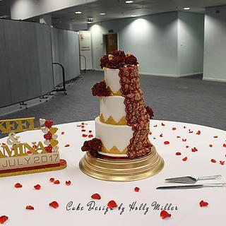 First Hindu wedding cake!