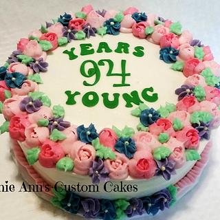 94 Years Young - Cake by RuthieAnn