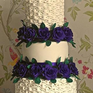 Billowing beauty :)  - Cake by Ellie @ Ellie's Elegant Cakery