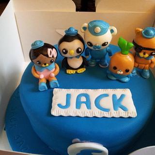 Octonauts Birthday Cake - Cake by Katescakes