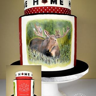 Canada 150! Cake and Sugar Art Collab