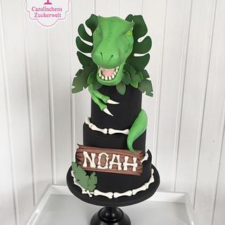 🦖 Dinosaurier Cake 🦖 - Cake by Carolinchens Zuckerwelt