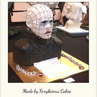 Life Size Pinhead Hellraiser (head and shoulders)