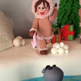 CPC Christmas Collaboration Cake